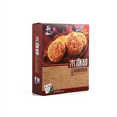 【老布特】木糖醇桃酥王(原味)248g/盒